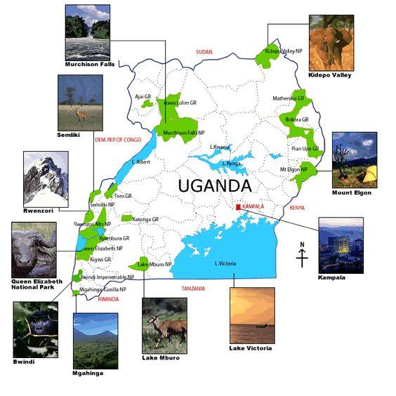 Galerie vidéos sur l'Ouganda http://www.hotels-live.com/videos/ouganda/ #Vidéos #Voyages