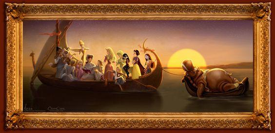 Disney's Princess Academy - Concept Art 01 by ~davidkawena on deviantART