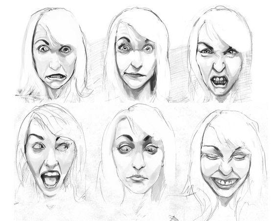 Facial Drawings 92