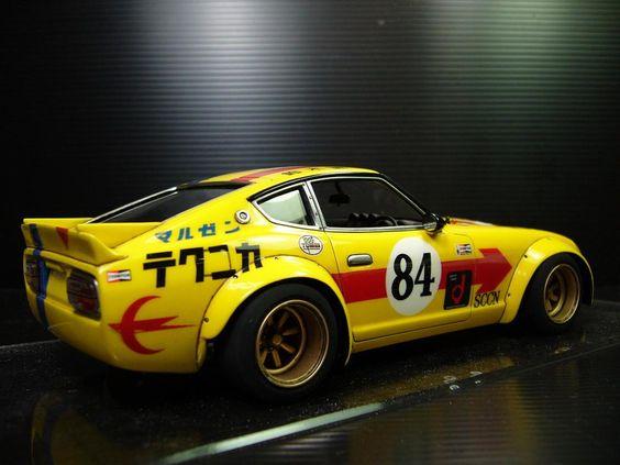Datsun 240Z S30  Fairlady race car  Auto Inspiration  Pinterest