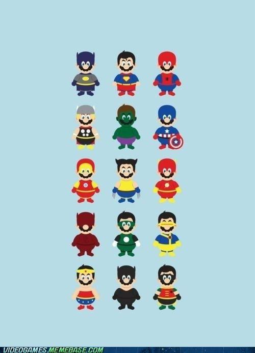 Mario's New Power-Ups