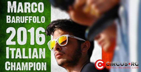 Marco Baruffolo remporte le titre de Champion d