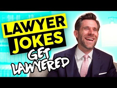 Real Lawyer Reacts To Lawyer Jokes Legaleagle Youtube In 2020