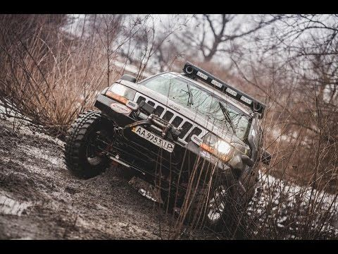 45 Offroad On Jeep Grand Cherokee Wj 4 7 V8 Youtube