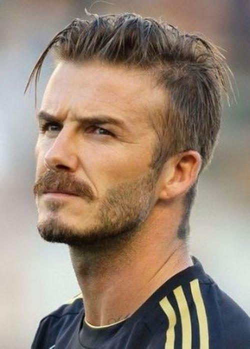 David Beckham Frisur Pinterest Neue Frisuren Erkek Sac