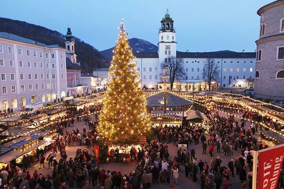 Christmas in Salzburg, Austria