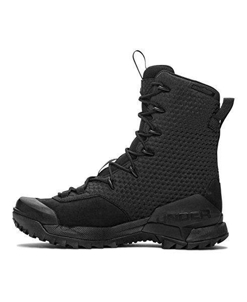 Herren Under Armour Infil Ops Schwarz Herrenschuhe Schuhe Herrensneaker Sneaker Sommerschuhe Herren Manner Stiefel Schwarze Schuhe Schuhe Herren