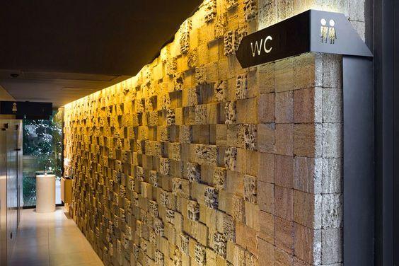 restaurant wall design - Cerca con Google