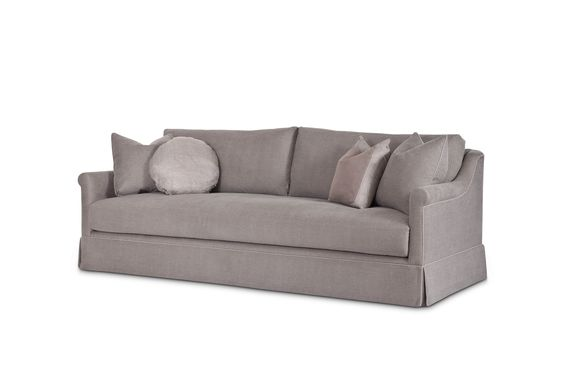 Delphine Sofa in Brest Street Stonewashed Cotton