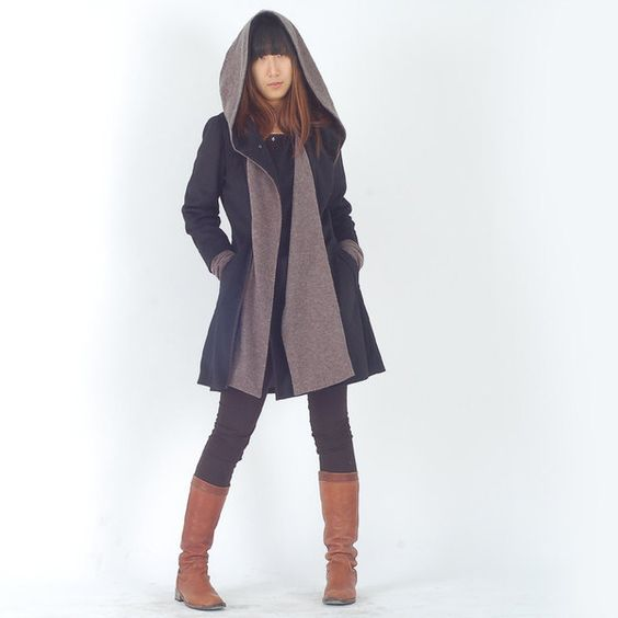 Far Away from Home - cashmere hood coat (Y1121) von idea2lifestyle auf DaWanda.com http://de.dawanda.com/product/26486365-Far-Away-from-Home---cashmere-hood-coat-Y1121