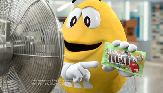 """Great for teaching Homographs/Multiple Meaning Words!  M&M'S® """"Fans"""" Commercial"""