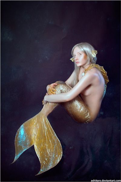 Mermaids IV by Angelina Goncharova