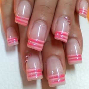 Funky-Fresh French Nail Art Ideas - Glam up your nails with these funky-fresh French nail art ideas. Experiment with loads of manicure styles from vibrant and eye-popping designs to the more discrete and lady-like patterns. Strip off all your confidence issues and let your nails speak for your refined style sense.