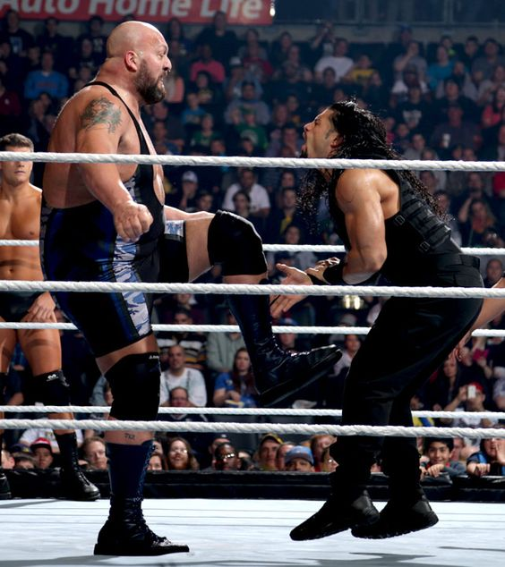 Raw 12/2/13: Big Show & The Rhodes Brothers vs The Shield