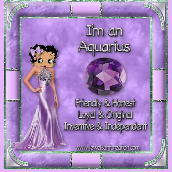 Jewels Art Creation: Aquarius Boop