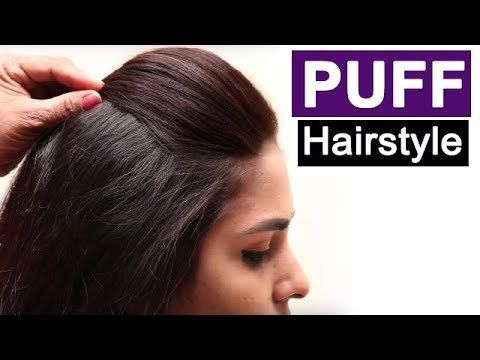 5 Easy Puff Hairstyles Everyday Hairstyles Tutorials Quick Hairstyles For Medium Thin Hair Youtube Medium Thin Hair Hair Puff Everyday Hairstyles