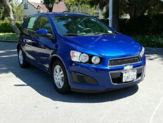 Hatchback 2014 Chevrolet Sonic Lt Hatchback With 4 Door In Duarte Ca 91010 Chevrolet Sonic Hatchback Chevrolet