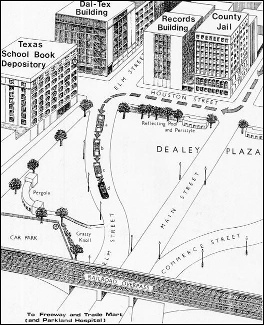 dealey plaza dallas map Dealey Plaza Drawing dealey plaza dallas map