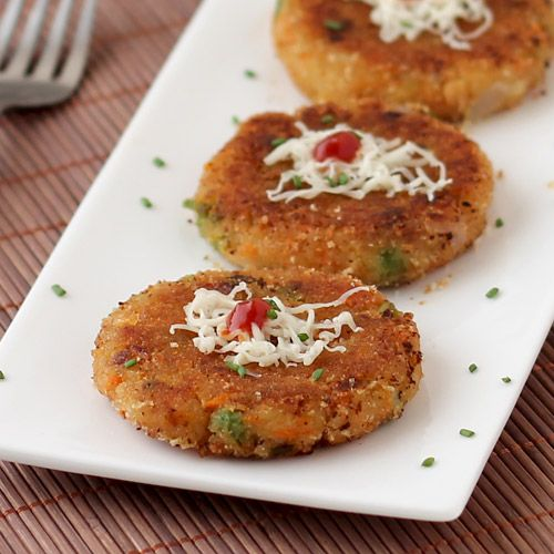 Bread cutlet, Mixed vegetables and Food specials on Pinterest