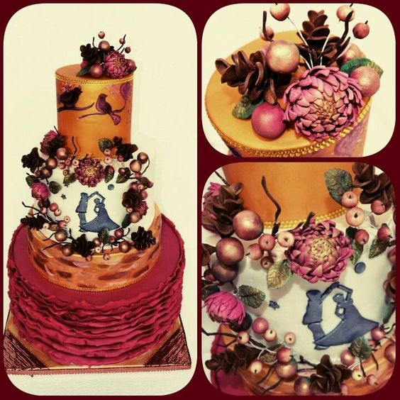 Autumn romance  - Cake by Zlatka