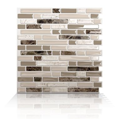 bellagio bello peel and stick tile for kitchen backsplash rv life pinterest campers home. Black Bedroom Furniture Sets. Home Design Ideas