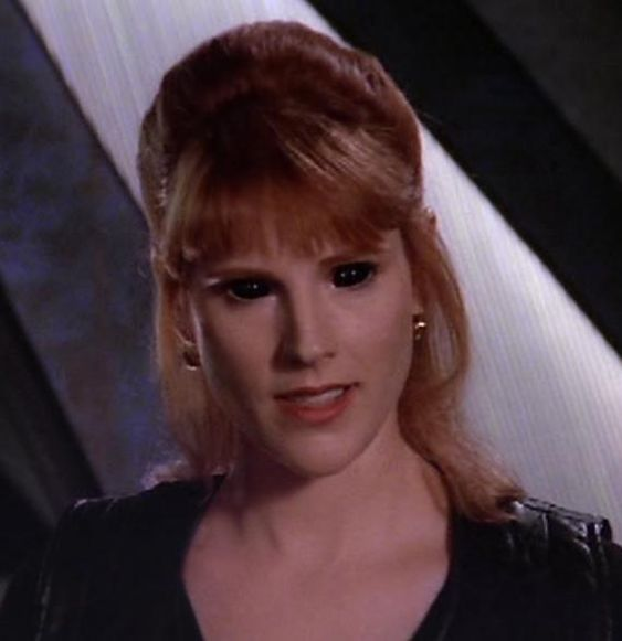 Babylon 5 - Altered Humans. In this case, Lyta Alexander, a minor telepath,  was altered by the Vorlons to serve as a tactical weapon against the Shadows. Now, she's off the traditional scale.