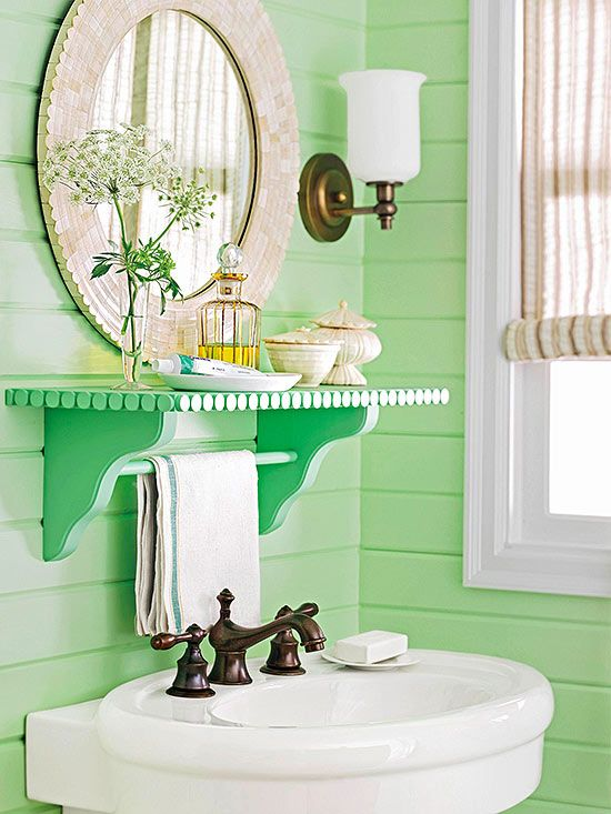 Shelves Towels And Vanities On Pinterest