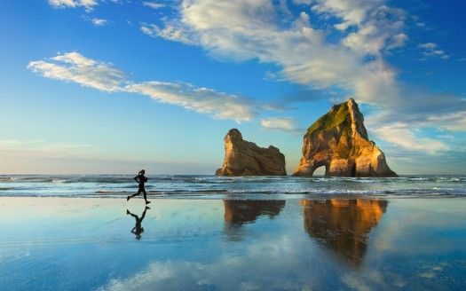 Beach Sunset Jog 4k Wallpaper Windows 10 Uhd Wallpaper Backgrounds Desktop