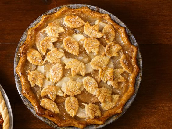 Apple-Pear ginger pie: Food Network