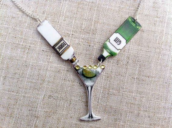 This G&T necklace, so you can have your true love with you always.