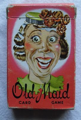 Old Maid card game...I remember that face! This is exactly the Old Maid deck I had as a kid...no kidding!