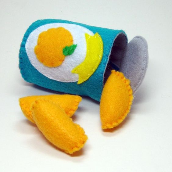 Adorable felt food from bugbitesplayfood on etsy