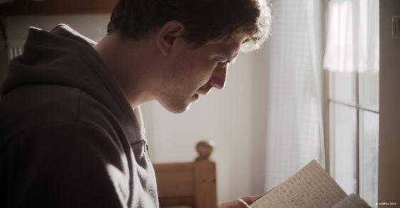 "Friedrich Mücke as Romas in STAUDAMM - The actor is known for ""Friedship!"", ""Russendisko"", ""Tatort"" and ""The Taste of Apple Seeds"". In 2014 he stars in Matthias Schweighöfer's new film ""Vaterfreuden""."