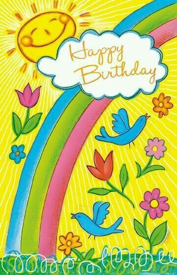 ☀️Happy Birthday Sunshine love and hugs, Bluebird x o x o: