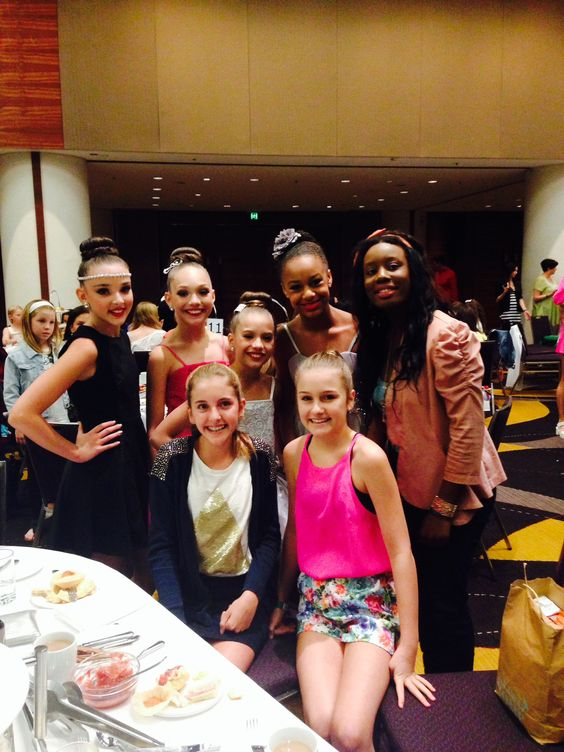 Maddie Ziegler, Mackenzie Ziegler, Kendall Vertes and Nia Frazier Australia Tour