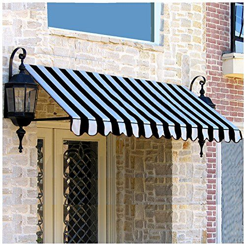 Amazon Com Beauty Mark Er2442 A 5kw Window Entry Awning Multicolor Gateway Window Awnings Door Awnings Fabric Awning