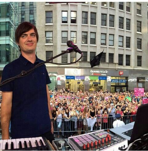 Sam Farrar, one of the most underappreciated members of Maroon 5.