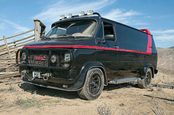 Gmc Vandura Performance Buy The A Team Drove Gmc Vandura Mini Van A Team Van Tv Cars