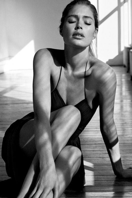 """Doutzen Kroes in """"Easy Like Sunday Morning"""" for WSJ Magazine, March 2015  Photographed by: Josh Olins"""