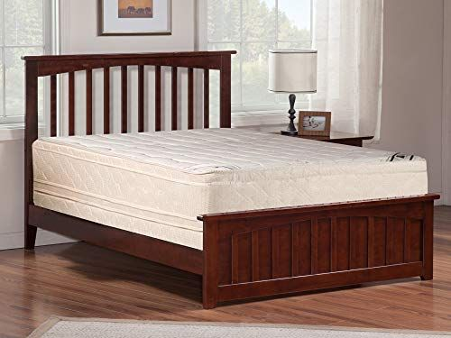 Mayton 14 Inch Twin Size Mattress And Semi Flex Box Spring Firm Double Sided Euro Top Foam Encased Ideal Back Support No Assembly Required Twin Mattress Size