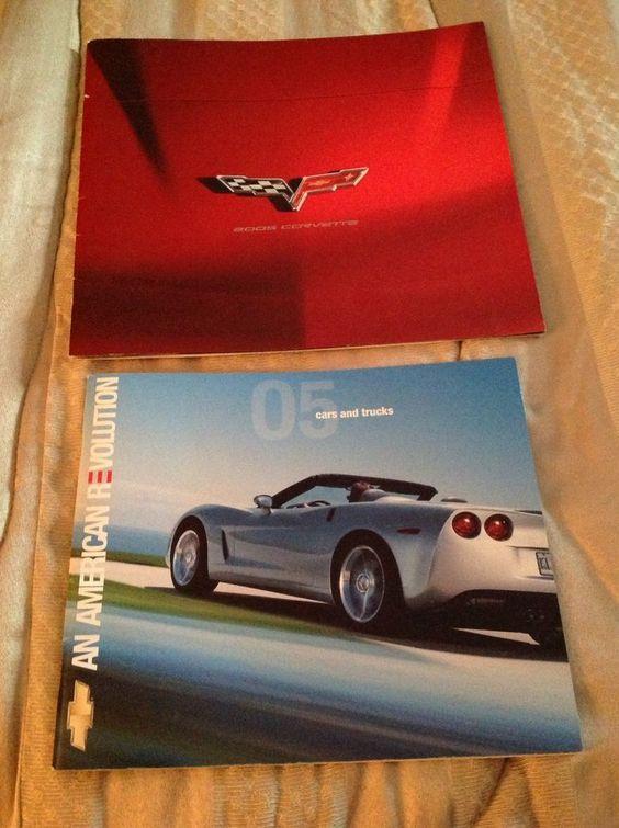C6 Corvette 2005 Dealer Brochure, Chevy Brochure and Corvette Insert