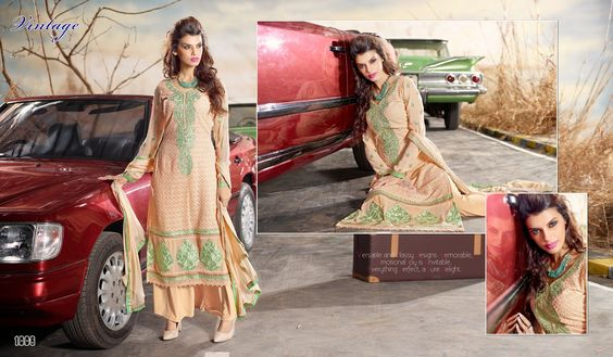 Item code BIP-VINTAGE-1006 Fabric Georgette Base With chikan Work Bottom fabric Santoon Duppatta fabric Chiffon Work Heavy Thread Embriodery On Neck,Sleeves & Hemline Colour Light peach with Green Combination Occasion Evening wear Party wear,Festival Wear Form Dress Material Time to ship 4-5 working days Wash care Dry Clean