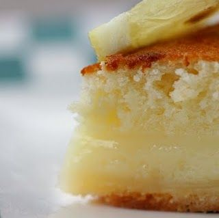 Lemon Cake-Pie...I love lemon!