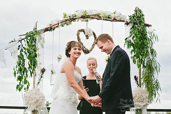 Wedding held at Peppers Ruffles Lodge and Spa, Gold Coast hinterland. Photography by Mt Tamborine wedding photographers The Arched Window. Styling by DC creations.