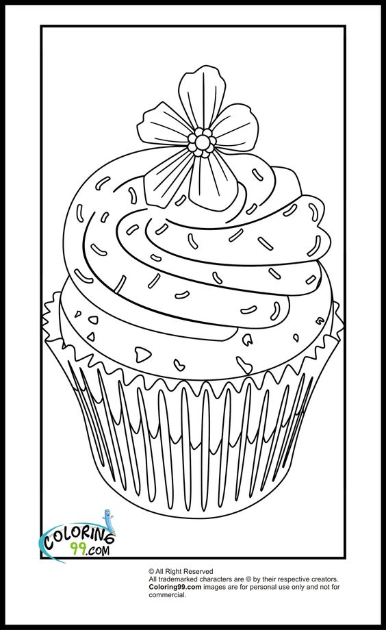 Sprinkles Coloring Pages