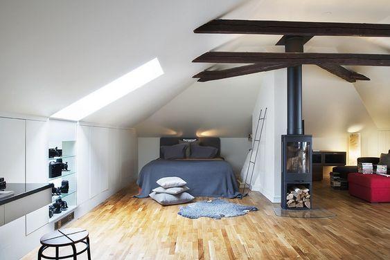 55 Dachschräge Ideen - Möbel geschickt im Raum platzieren - dachschrage ideen mobel platzieren