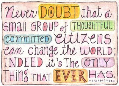 Yes. This. (One of my all-time favorites to think about when I wonder if I'm really making a difference.)