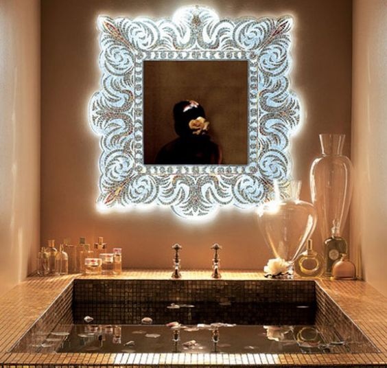 Verev, Perfect for making a grand statement of artistic luxury in an bathroom