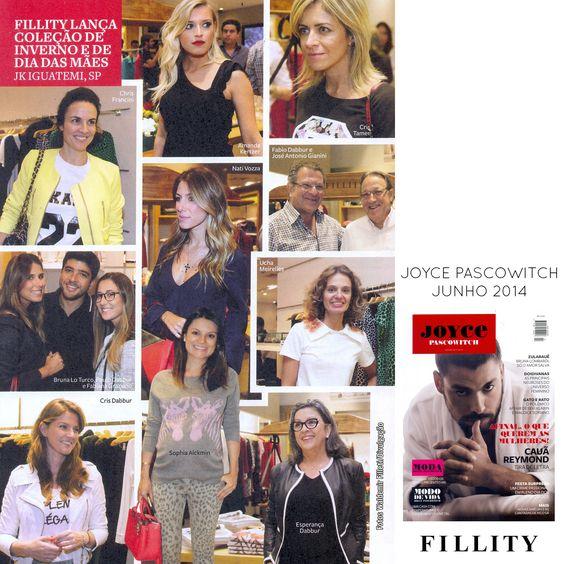 O nosso coquetel de lançamento da coleção Alto Inverno 2014 na revista Joyce Pascowitch do mês de junho!   Sucesso!!!! ♡  Adoramos as fotos!   #fillity #fillityinverno2014 #inverno2014fillity #altoinvernofillity
