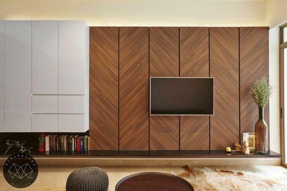 壁掛け テレビ インテリアコーディネート例